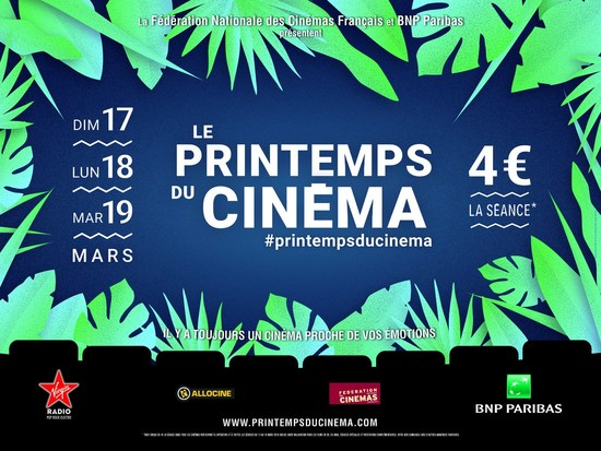 PRINTEMPS DU CINEMA 2019